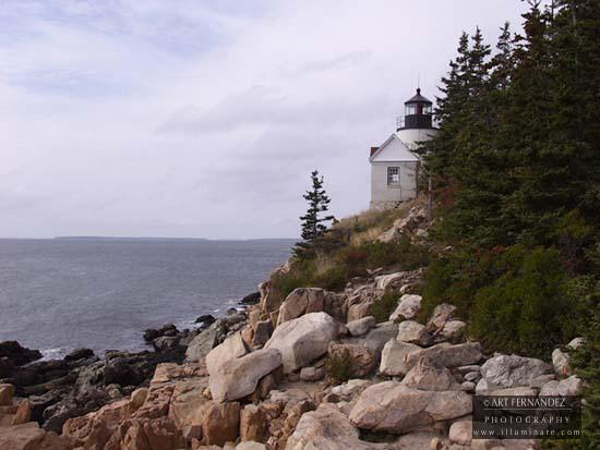 Bass Head Light, Mt. Desert Island, Maine