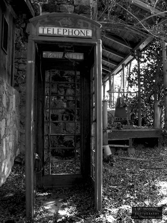 Abandoned Royal Telephone Booth, San Andreas, 2006