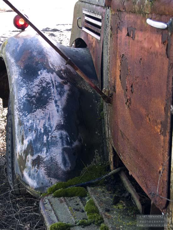 Truck Rust Textures, Lathrop, 2006