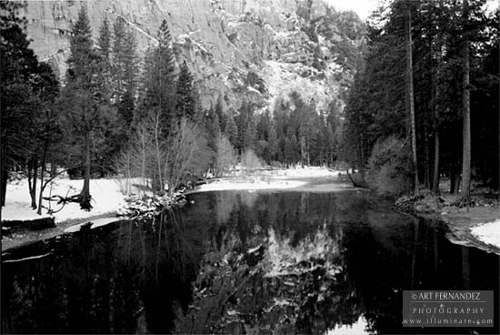 Reflection, Yosemite, 2006