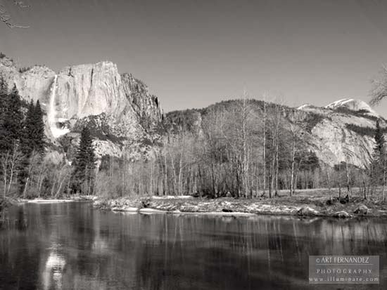Merced River Towards The Valley, Yosemite, 2006