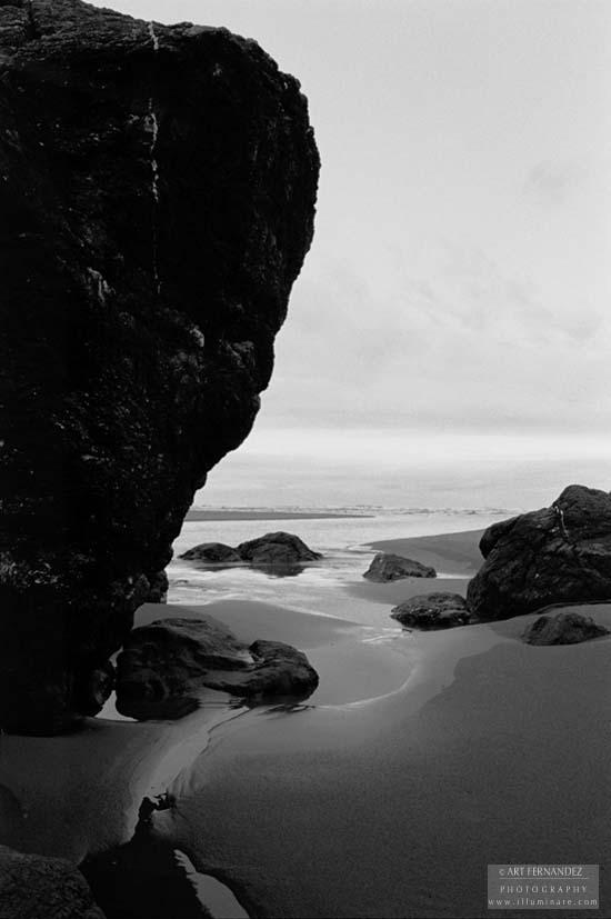 Monument Rock, Moonstone Beach, CA, 2006