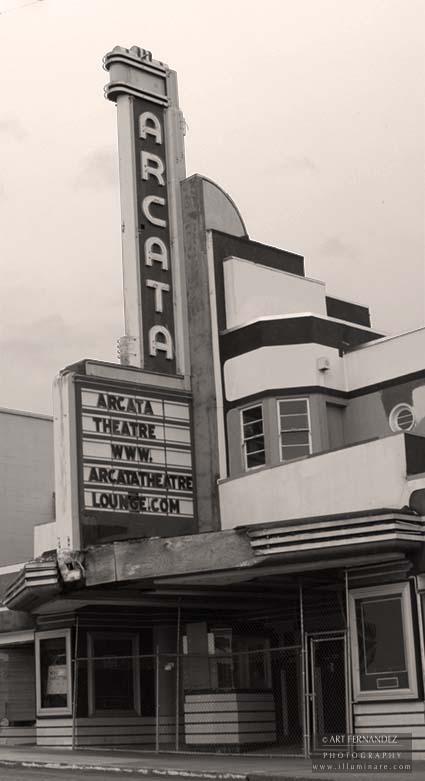 Arcata Theatre (Sepia), Arcata, CA, 2006