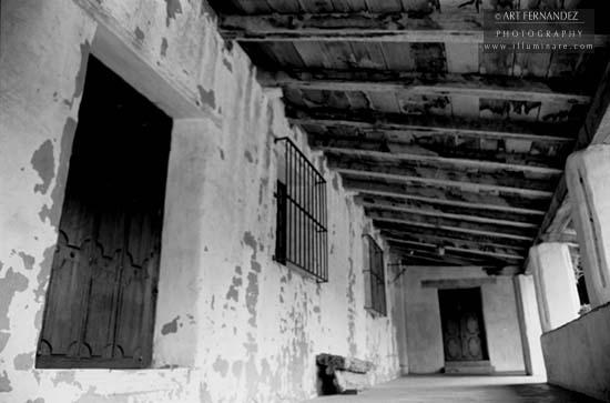 Hallway, Carmel Mission, 2006