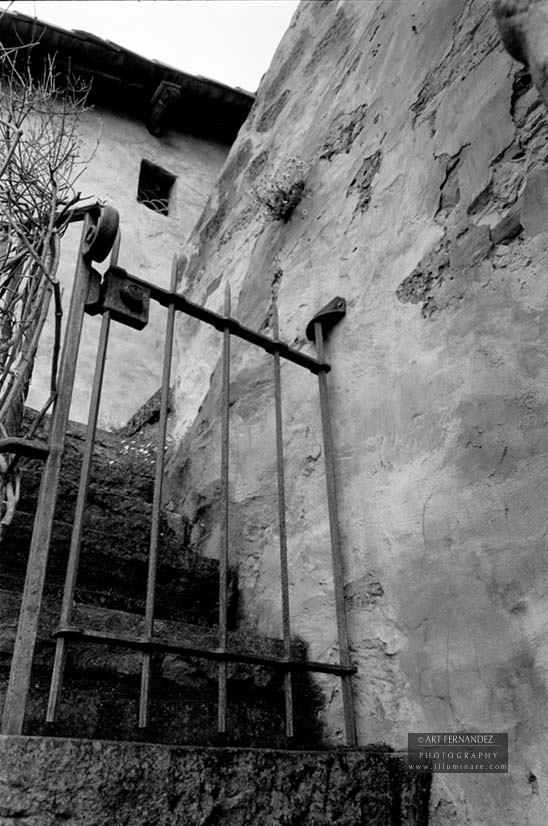 Side Gate & Stairs, Carmel Mission, 2006
