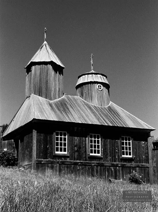 Russian Orthodox Chapel, Fort Ross, CA, 2006