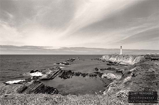 Vista, Point Arena Lighthouse, 2006
